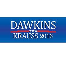 Dawkins Krauss 2016 Photographic Print