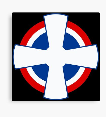 Roundel of the Royal Yugoslav Air Force (1929-1941) Canvas Print