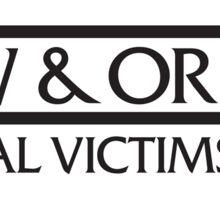 Law & Order SVU Sticker