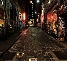 Hosier Lane by Joel Bramley