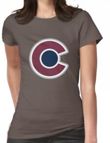 Colorado Avalanche Alternate Logo Womens Fitted T-Shirt