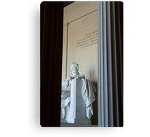 Abraham Lincoln Memorial Canvas Print
