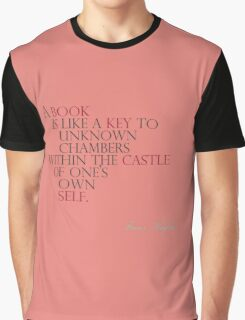 A Book Is Like A Key P4 Graphic T-Shirt