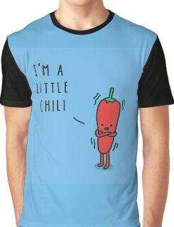 Chili Cartoon Graphic T-Shirt