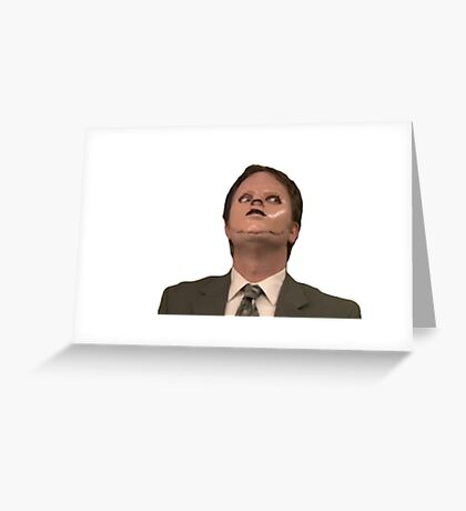 Dwight Lector Greeting Card