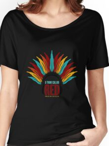 a tribe called red no back Women's Relaxed Fit T-Shirt