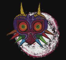 Legend of Zelda Majora's Mask Moon Ascending by moosegod
