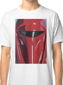 Red Imperial Guard Star Wars Print  Classic T-Shirt