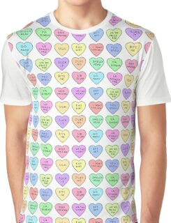 Bitter Hearts Graphic T-Shirt