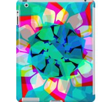 techno dudes 3 blue iPad Case/Skin