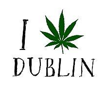 Dublin Ireland Weed Photographic Print