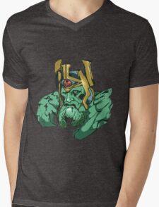 Pixel King  Mens V-Neck T-Shirt