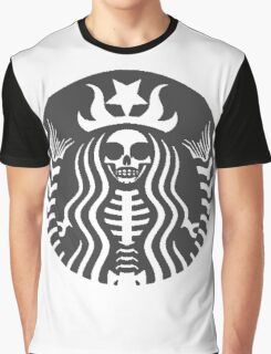 Dead Starbucks Graphic T-Shirt