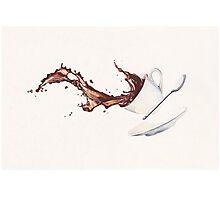 Coffee Splash Photographic Print
