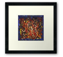 Flesh and Blood Framed Print