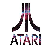 Atari Nebula Photographic Print