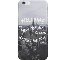 Taylor Swift Welcome To New York iPhone Case/Skin