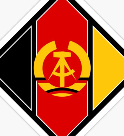 Emblem of aircraft of NVA (East Germany) Sticker