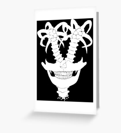 Exploding Insomnia- Inverted Greeting Card
