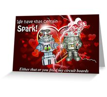 Valentine for Robots Greeting Card