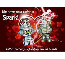 Valentine for Robots Photographic Print