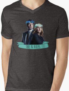 txf Mens V-Neck T-Shirt