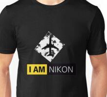I AM NIKON Airplane Parody Logo Unisex T-Shirt