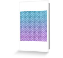 Mermaid Scales in Cotton Candy Greeting Card