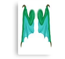 Personal Wings (Dragon) Canvas Print