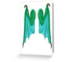 Personal Wings (Dragon) Greeting Card