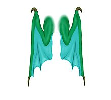 Personal Wings (Dragon) Photographic Print