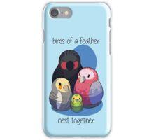 Aussie Birds Nest Together iPhone Case/Skin