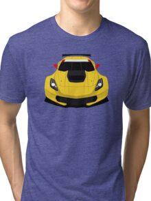 American Race car Tri-blend T-Shirt
