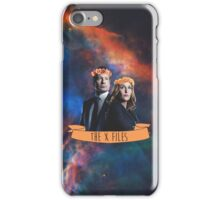 dana & mulder iPhone Case/Skin