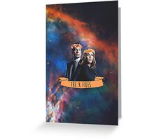 dana & mulder Greeting Card