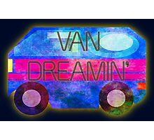Retro-Van Dreamin' Photographic Print