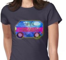 Retro-Van Dreamin' Womens Fitted T-Shirt