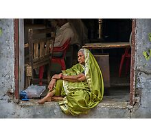 Sari Daydreams Photographic Print