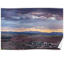 Flinders ranges scenery  Poster