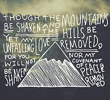 Isaiah 54:10 by NatDet