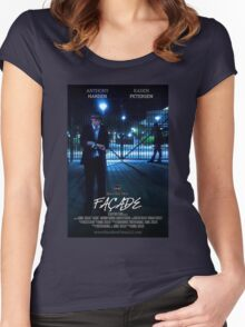 Façade Poster Women's Fitted Scoop T-Shirt