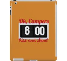 Ok, Campers. iPad Case/Skin