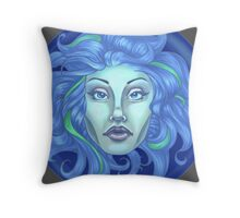 Madame Leota - Haunted Mansion Throw Pillow