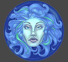 Madame Leota - Haunted Mansion by Kylana