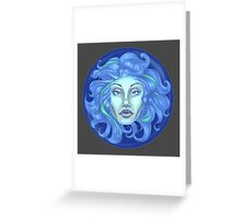 Madame Leota - Haunted Mansion Greeting Card