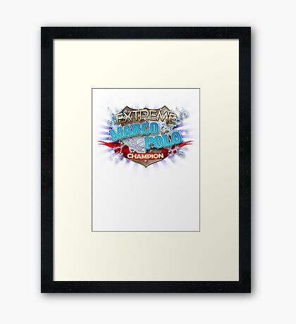Extreme Marco Polo champion Framed Print