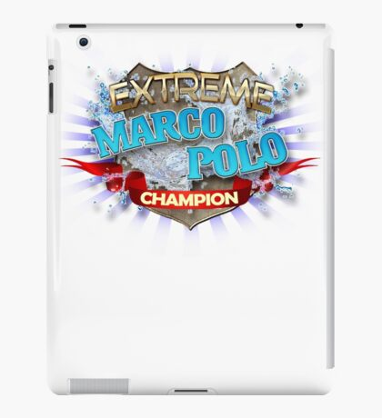 Extreme Marco Polo champion iPad Case/Skin