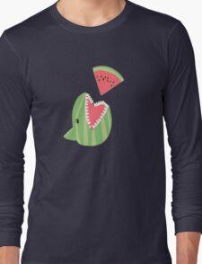 Watermelon Shark Long Sleeve T-Shirt