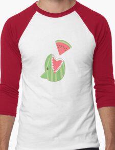 Watermelon Shark Men's Baseball ¾ T-Shirt