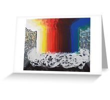 Artistic Explosion Greeting Card